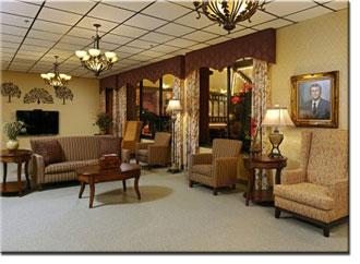 Lobby At Nursing Home